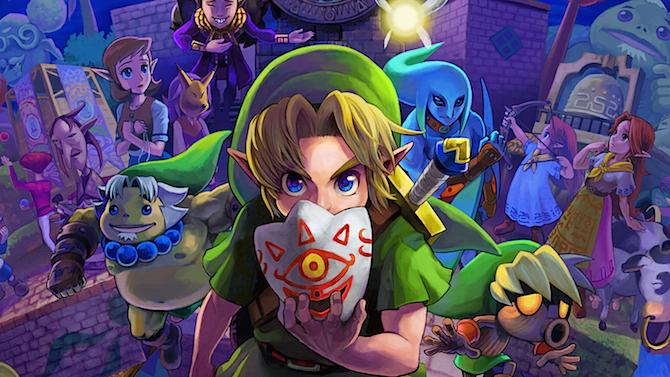 TEST. The Legend of Zelda : Majora's Mask 3D