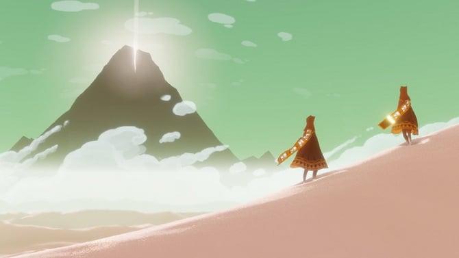 TEST de Journey sur PS4 : chef d'oeuvre éternel