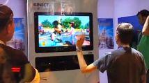 E3 > Le tour du stand Kinect en vidéo