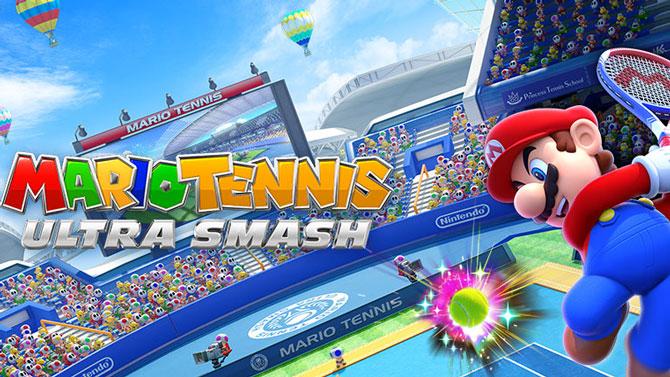 TEST de Mario Tennis Ultra Smash (Wii U) : Powered Up !