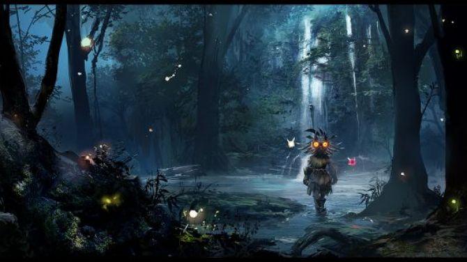 1080p Zelda Wallpaper: Et Si Link était Mort Dans Majora's Mask?