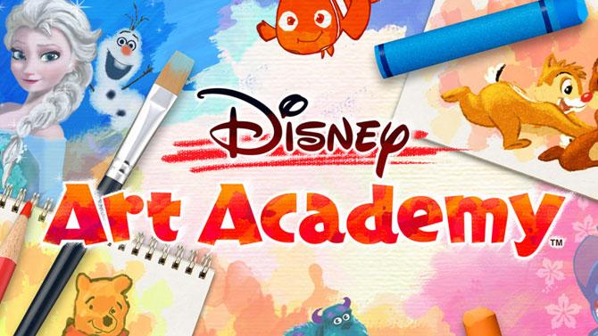 TEST FLASH de Disney Art Academy : la magie Disney sous votre stylet !