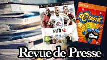 Revue de presse : FIFA 12, Rotastic