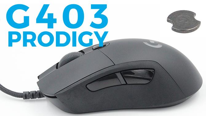 TEST de la souris Logitech G403 Prodigy : Performance en douceur