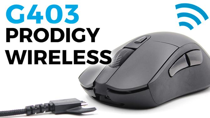 TEST de la souris Logitech G403 Prodigy Wireless : Sans fil et sans reproche?