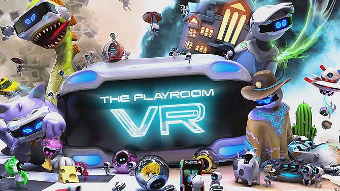 TEST de The Playroom VR : La réalité virtuelle pour toute la famille