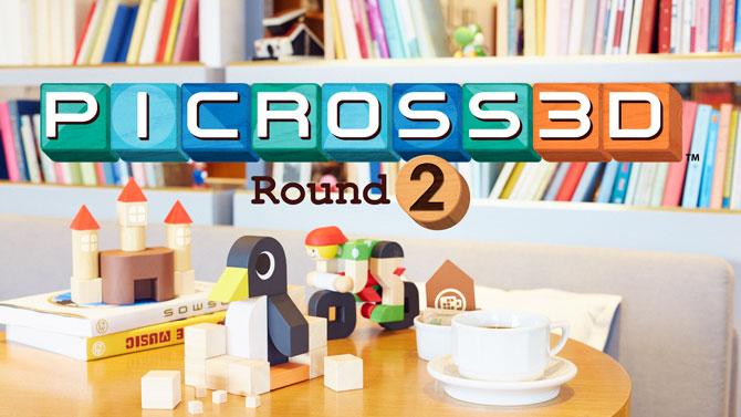 TEST de Picross 3D Round 2 : La nouvelle référence du puzzle game ?