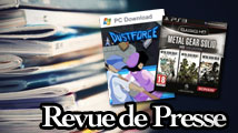 Revue de presse : Metal Gear Solid HD Collection, Dustforce