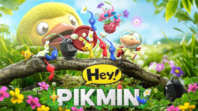 TEST de Hey! Pikmin sur 3DS : L'art de s'écraser avec aplomb