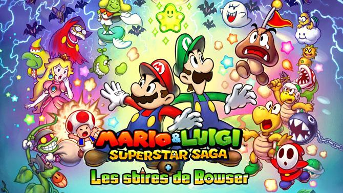 TEST de Mario & Luigi Superstar Saga + Les sbires de Bowser  : Pour le meilleur et pour le sbire