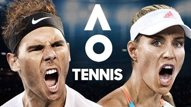 TEST de AO Tennis iOS et Android : Down under