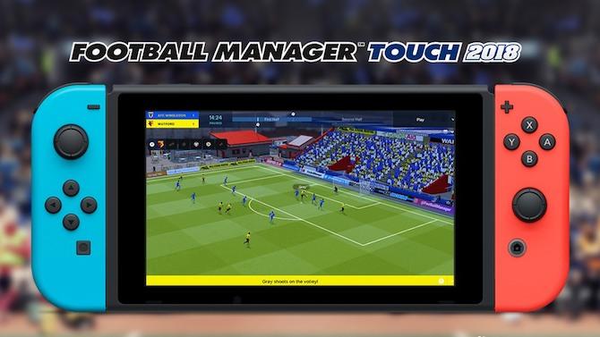 TEST de Football Manager 2018 sur Switch : Une version qui reste sur le banc de touche ?