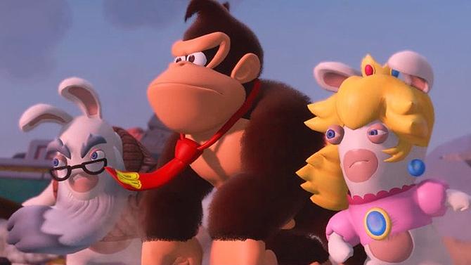 TEST de Mario + Lapins Crétins - Donkey Kong Adventure : Un DLC qui donne la banane
