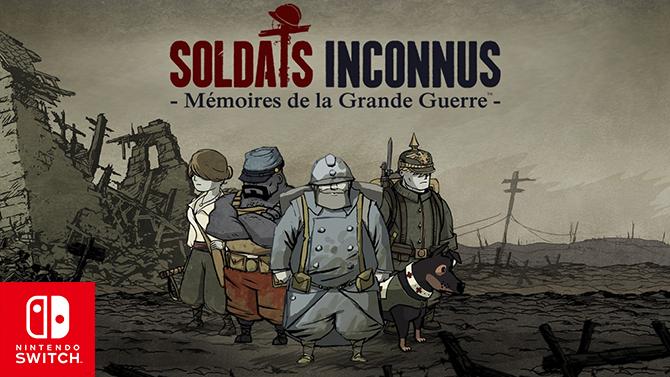 TEST de Soldats Inconnus sur Switch : Quatre ans plus tard, le souvenir reste intact
