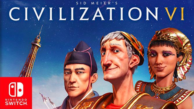 TEST de Civilization VI sur Switch : La conquête du monde sur place ou à emporter