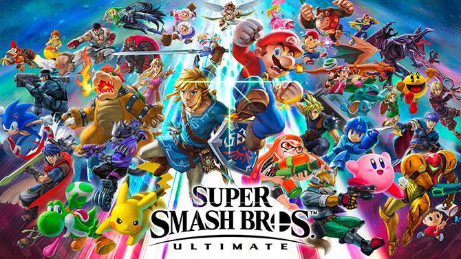 TEST de Super Smash Bros. Ultimate : Vers l'infini et au-delà !