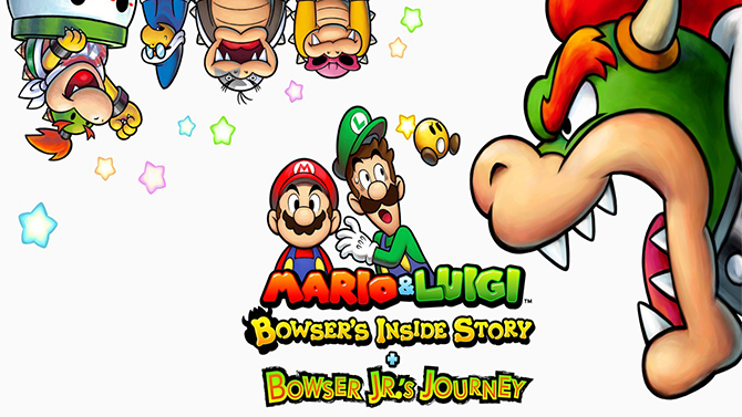 TEST de Mario & Luigi : Voyage au centre de Bowser + L'épopée de Bowser Jr : Un vrai repas de fêtes