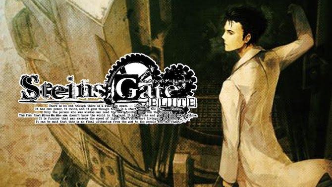 TEST de Steins;Gate Elite: Le Visual Novel AAA