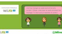 Des communautés d'utilisateurs dans Wii Fit U
