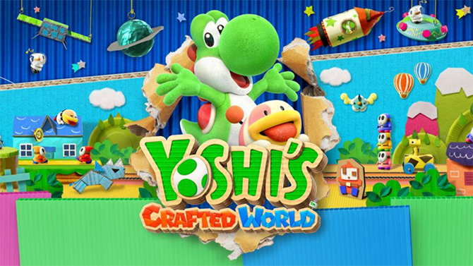 TEST de Yoshi's Crafted World : Le dinosaure ramasse-t-il un carton ?