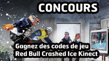 Concours : gagnez Red Bull Crashed Ice Kinect