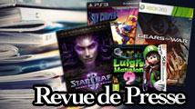 Revue de presse : Gears, Sly, StarCraft, Luigi's Mansion 2