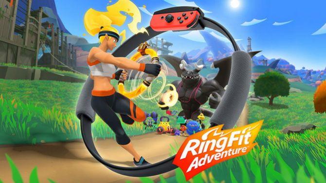 TEST de Ring Fit Adventure : Une très bonne raison de bouger