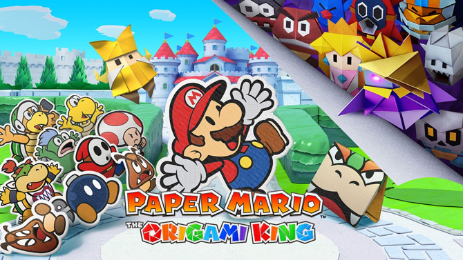 TEST de Paper Mario The Origami King : Un parti plis aventureux