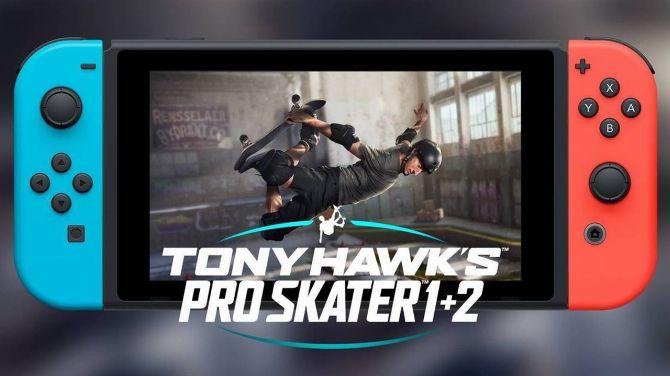 TEST de Tony Hawk's Pro Skater 1+2 sur Switch : La version finger board
