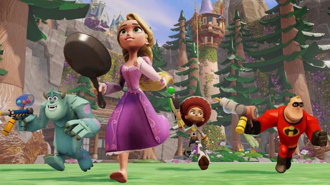 Disney Infinity ne dépasse pas Skylanders, mais s'en sort bien quand même
