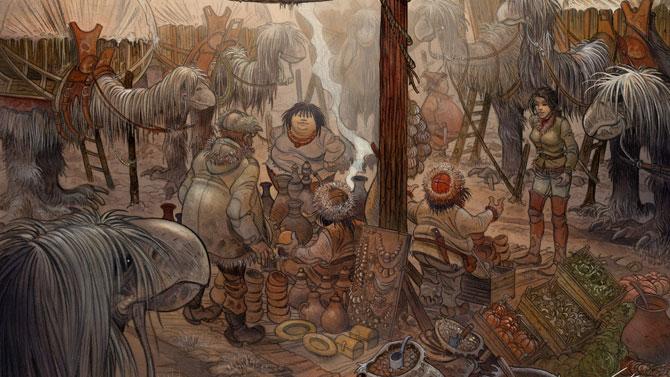 Quelques sublimes artworks pour Syberia 3