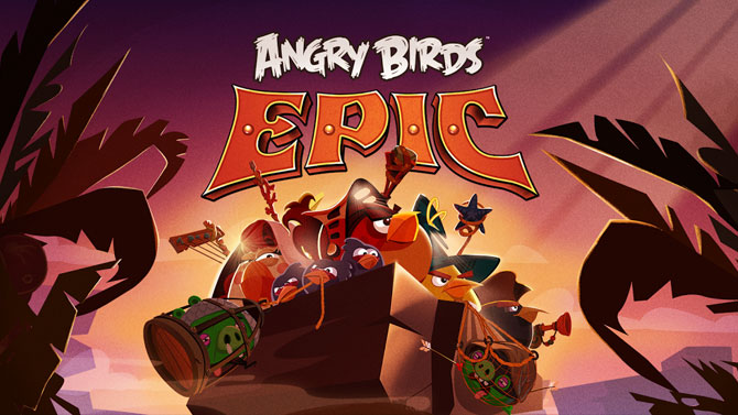 Rovio annonce Angry Birds Epic, un RPG