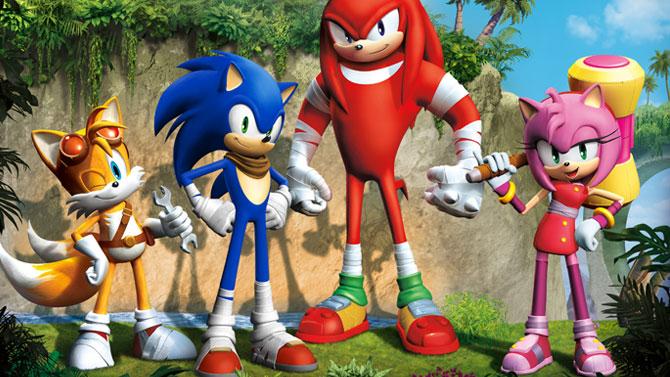 Sonic Boom : une date de sortie et du Cry Engine sur Wii U