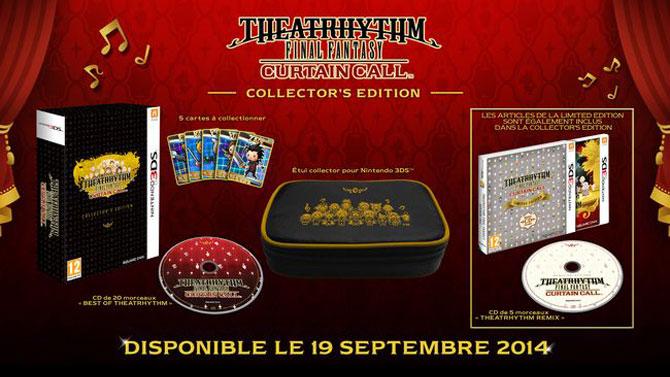 Theatrhythm Final Fantasy Curtain Call : date de sortie et édition collector