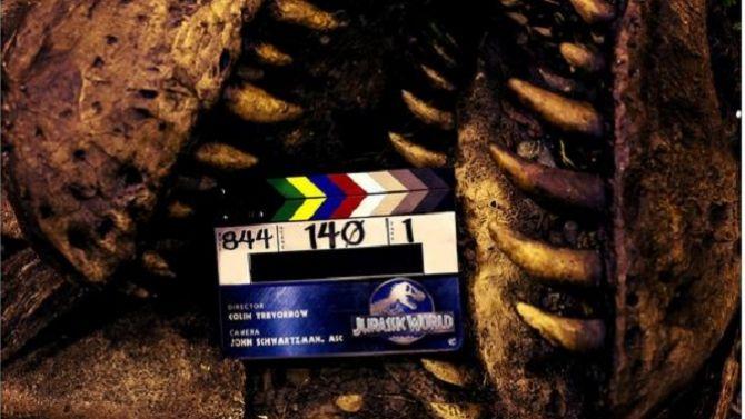 Jurassic World : un cliché mystérieux pour la fin du tournage