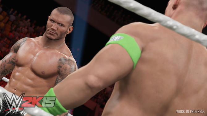 WWE 2K15 : les images de Randy Orton en exclu