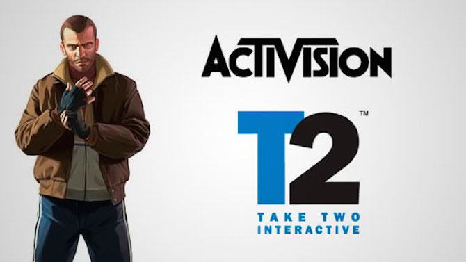 Activision voudrait racheter Take Two et s'offrir GTA