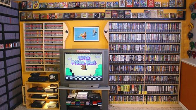 167.000 dollars pour une collection de 5.700 jeux sur eBay, les photos