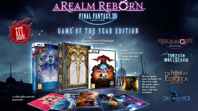 Final Fantasy XIV Realm Reborn : une édition Jeu de l'année annoncée
