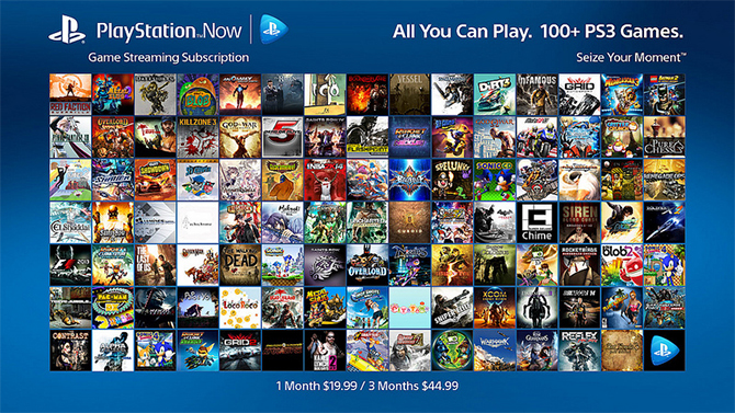 playstation now sony d voile les prix de l 39 abonnement aux tats unis. Black Bedroom Furniture Sets. Home Design Ideas