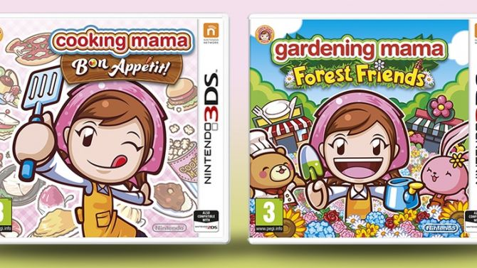 Cooking Mama 5 et Gardening Mama Forest Friends datés