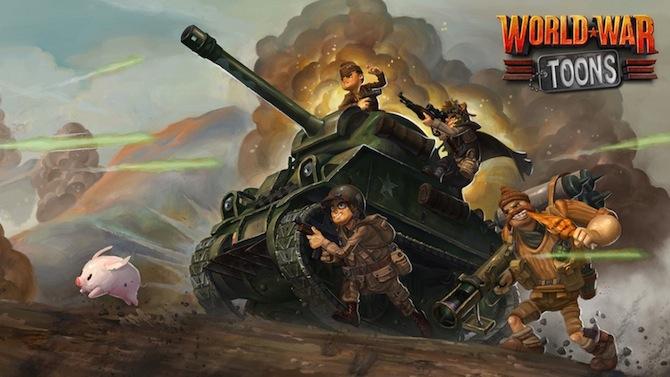 Des anciens de Call of Duty annoncent World War Toons en vidéo