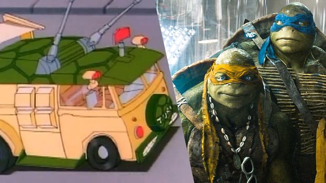 ninja turtles 2 michael bay dvoile le camion des tortues. Black Bedroom Furniture Sets. Home Design Ideas
