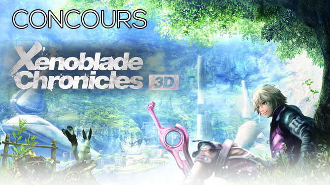 Concours Xenoblade Chronicles 3D : voici les gagnants