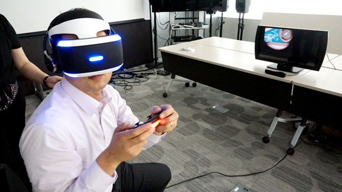 playstation 4 sony voque la date de sortie du project morpheus. Black Bedroom Furniture Sets. Home Design Ideas