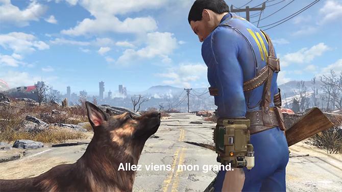 E3 : Fallout 4 annonce sa date de sortie, et c'est cette année