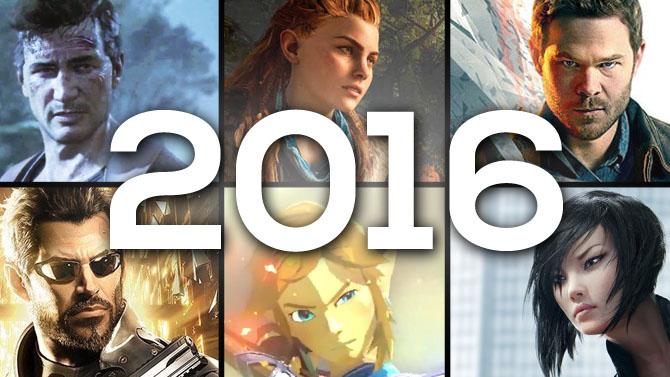 Notre calendrier des jeux vidéo de 2016