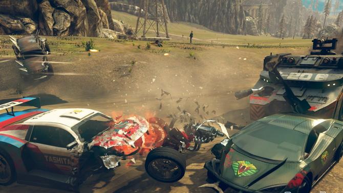 Carmageddon : Max Damage annoncé sur PS4 et Xbox One en vidéo trash