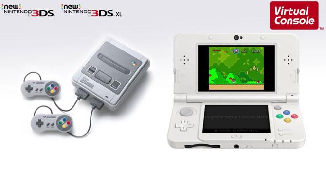 La Super Nintendo arrive sur New Nintendo 3DS... exclusivement !