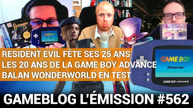 PODCAST 562 : Happy Birthday Resident Evil et GBA, bye bye Balan Wonderworld